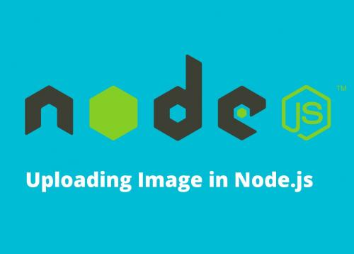 Uploading image in Node.js using multer