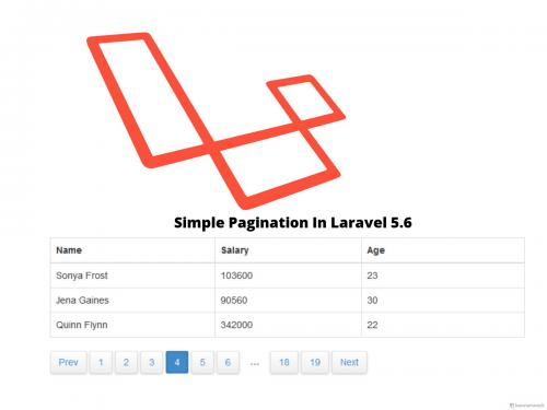 Laravel Pagination - Online Interview Questions